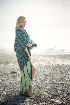 Mermaid Beach Blanket Crochet Pattern