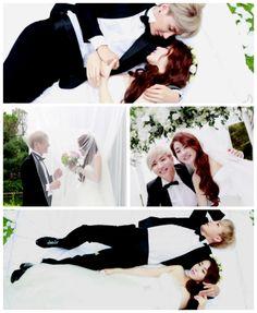 Lee Teuk & Kang Sora (Dimple couple)
