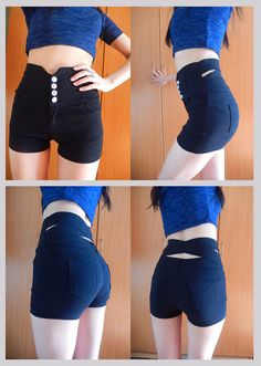 0a8c720971 maijiaxiu Plus Size Shorts, High Waisted Shorts, Casual Shorts, Hot Pants,  Asian