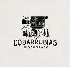 Dani Cobarrubias - videographer  #branding #logo #artofday #illustration #oldschool #vintage #lifestyle