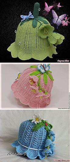 61 Ideas for crochet hat kids girls children Crochet Kids Hats, Knitted Hats, Knit Crochet, Sombrero A Crochet, Crotchet Patterns, Crochet Stars, Knitted Baby Clothes, Patch Quilt, Crochet Accessories