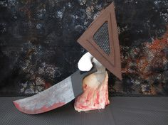 Pyramid Head Doll by Rei2Jewels on Etsy, $28.00