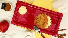 Μιλφέιγ με καταΐφι και παγωτό κανέλα