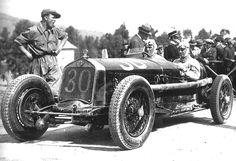 Varzi at the Targa Florio 1930