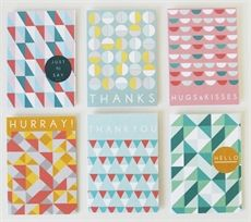 Picture of Geometric Cards - Set of 6