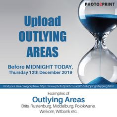 Today is the final upload date for outlying areas. #deadline #uploads #outlyingareas #christmas #xmas #christmastime #holiday #gifts