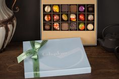 Playthings now has Ghyslain Chocolates!  Don't miss this holiday treat!