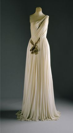 Madame Grs (French, 19031993). Evening gown, 1954. The Metropolitan Museum of Art, New York. Gift of Mrs. Byron C. Foy, 1956 (C.I.56.60.6a,b)