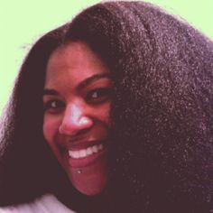 Click the image for Cheyenne's natural hair photos and regimen.