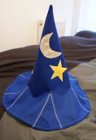 Wizard's hat - with tutorial! - OCCASIONS AND HOLIDAYS