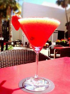 Un delicioso y refrescante Mediterranean Gim Let Picasso al sol de #Malaga
