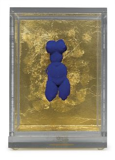 Bid now on Petite Vénus Bleue by Yves Klein. View a wide Variety of artworks by Yves Klein, now available for sale on artnet Auctions. International Klein Blue, Nouveau Realisme, Modern Art, Contemporary Art, Yves Klein Blue, Tv Movie, Feminist Art, French Artists, Oeuvre D'art