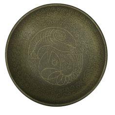 Aaron Bohrod and Carlton Ball; Art Sketchbook, Earthenware, Glaze, 1950s, Decorative Plates, Auction, Ceramics, Dishes, Design