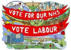 Get your hand-drawn, limited edition Vote Labour poster! – The Labour Party