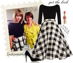 """""""get the look-Taylor Swift, interview in Montreal, Canada"""" by indicupcake on Polyvore"""