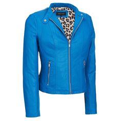 Black Rivet Faux-Leather Scuba Jacket w/ Knit Inset Was: $180.00                     Now: $79.99