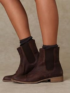 These ankle booties would be cute with slouchy boyfriend jeans:)