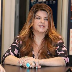 Kristie Alley Is Back To Being Herself Again