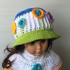 Crochet Patterns BLOOM HAT PDF Instant download 517