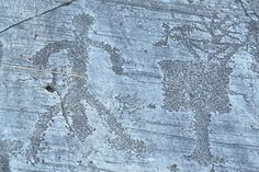 Rock Drawings in Valcamonica - World Heritage Site - Pictures, info and travel reports