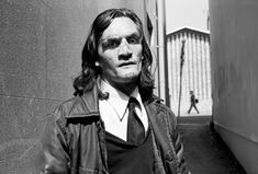 """Richard, a homeless man with epilepsy, Brighton, UK. From the series """"Beyond the facade"""", 1989-1990. Photo by Mark Power."""
