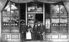 White Eagle Saloon - Portland OR, 1908