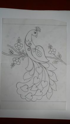 Embroidery On Kurtis, Kurti Embroidery Design, Hand Embroidery, Sleeves Designs For Dresses, Sleeve Designs, Blouse Designs, Textile Patterns, Textiles, Flower Art Drawing