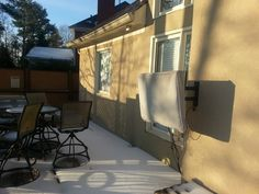 Covers For Outdoor Tvs - Decor Ideas Outdoor Tv Covers, Outdoor Tvs, Tv Decor, Decor Ideas, Home Decor, Backyard, Patio, Snow, Decoration Home