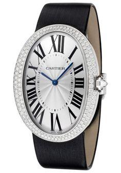 Cartier Watch Women's Baignoire Mechanical White Diamond | Free Shipping