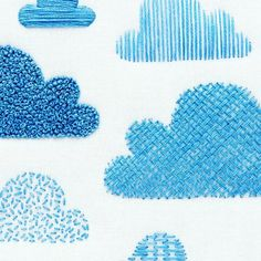 WEBSTA @ ohsewbootiful - The cloud embroidery sampler is a great way to try out…