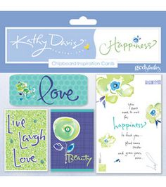 Happiness inspiration cards at Jo-Ann from @Kathy Davis