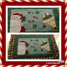 Cubre bandeja Patchwork Christmas Sewing, Christmas Diy, Xmas, Holiday, Picnic Blanket, Outdoor Blanket, Yo Yo Quilt, Santa Gifts, All Things Christmas