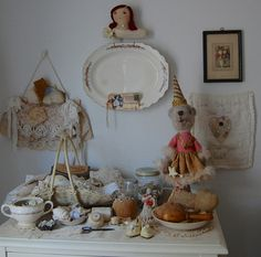 In my studio~ by Rose Fairie Cottage, via Flickr