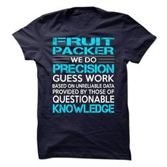 Awesome Shirt For Fruit Packer T Shirts, Hoodies. Check price ==► https://www.sunfrog.com/LifeStyle/Awesome-Shirt-For-Fruit-Packer.html?41382 $21.99