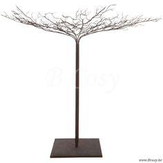 J-Line Metalen naakte kerstboom roestbruin XL 250h Jline-by-Jolipa-67786