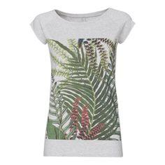 Jungle Cap Sleeve melange Melange Cap Sleeve aus Bio Baumwolle