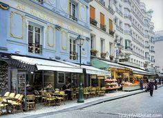 Rue Montorgueil, Paris - a food lover's delight!