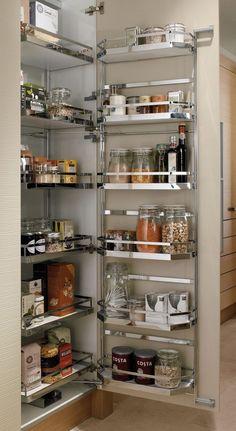 Kitchen Cupboard Designs, Kitchen Dresser, Kitchen Cabinet Storage, Kitchen Room Design, Modern Kitchen Cabinets, Modern Kitchen Design, Home Decor Kitchen, Interior Design Kitchen, Kitchen Islands