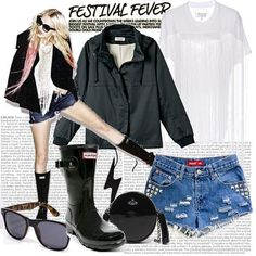 get ready for the Brit Festivals -Glastonbury -Isle of wight, reading & V festival   THUNDER | Women's Outfit | ASOS Fashion Finder
