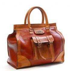 Cayman Leather Bag (Rust)