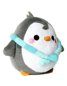 I haven't been posting cuz school so here is a kawaii penguin of sorryness 😘 Cute Stuffed Animals, Cute Animals, Softies, Plushies, Hamster, Cute Pillows, Diy Pillows, Cute Plush, Cute Penguins