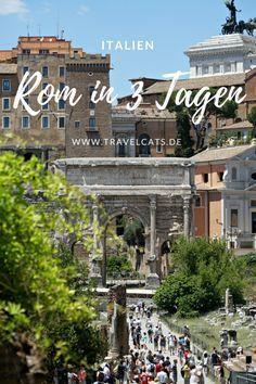 Die ewige Stadt Rom in drei Tagen erleben ✈ Viele Tipps und Ideen findet ihr in unserem Reisebericht unter: https://www.travelcats.de/europa/italien/tipps-fuer-wochenende-in-rom/