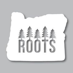 One of our most popular stickers, our Oregon Roots Diecut Sticker is perfect for any Oregon native. They make great gifts any Oregonian will love! This sticker along with all our other Pacific Northwest goods are available at www.stickersnorthwest.com