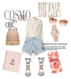 """""""Neutrals"""" by aulianka on Polyvore featuring IRO, Chicnova Fashion, Steve Madden, ban.do, Kate Spade, Michael Kors, Chanel and Loloi Rugs"""