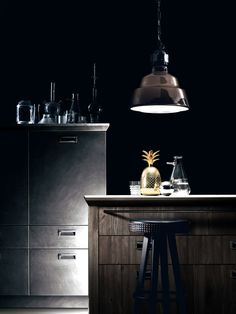 Interior design | decoration | home decor | kitchen | materials and colors | Social Kitchen by Diesel and Scavolini