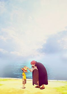 Someday, return it to me as a great pirate... - Shanks to Luffy