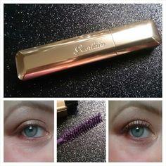 #guerlain #CilsDEnfer #violet #luxe #beforeandafter #mascara #maxvolume