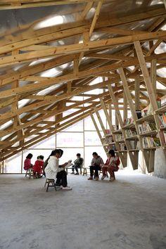 Auffallend bescheiden: Bibliothek und Gemeindezentrum »The Pinch« - DETAIL - Magazin für Architektur + Baudetail