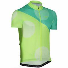 Wiggle | dhb Blok Big Punkt Short Sleeve Jersey | Short Sleeve Cycling Jerseys