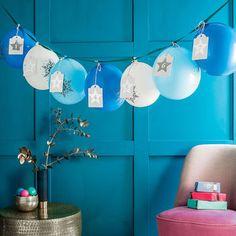 Ombre Balloon Advent Calendar